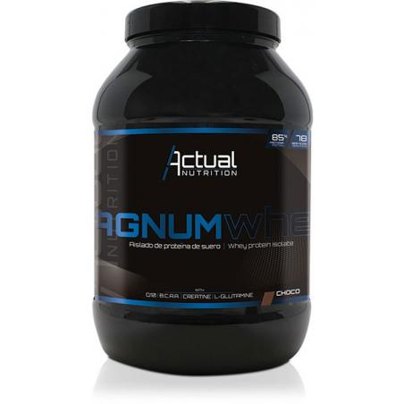 Proteína Whey Magnum sabor chocolate. Whey Protein Isolate 90%
