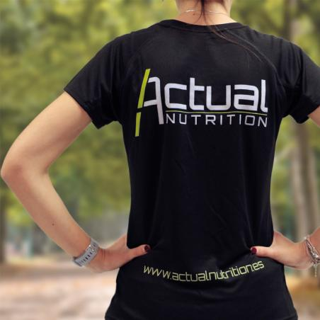 Camiseta Técnica Mujer Actual Nutrition